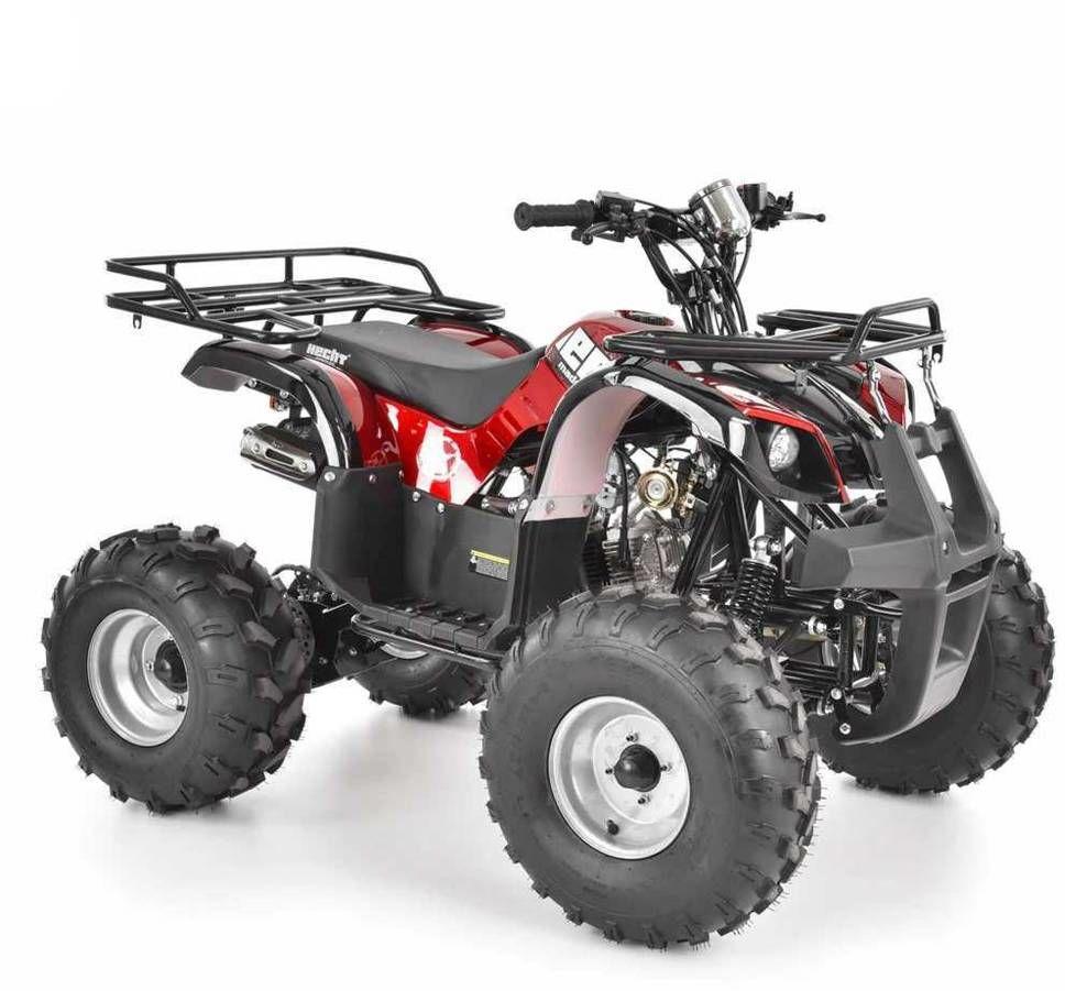 HECHT 56125 RED ATV QUAD PRZEPRAWOWY SPALINOWY SAMOCHÓD TERENOWY AUTO POJAZD 125 cm3 - EWIMAX OFICJALNY DYSTRYBUTOR - AUTORYZOWANY DEALER HECHT