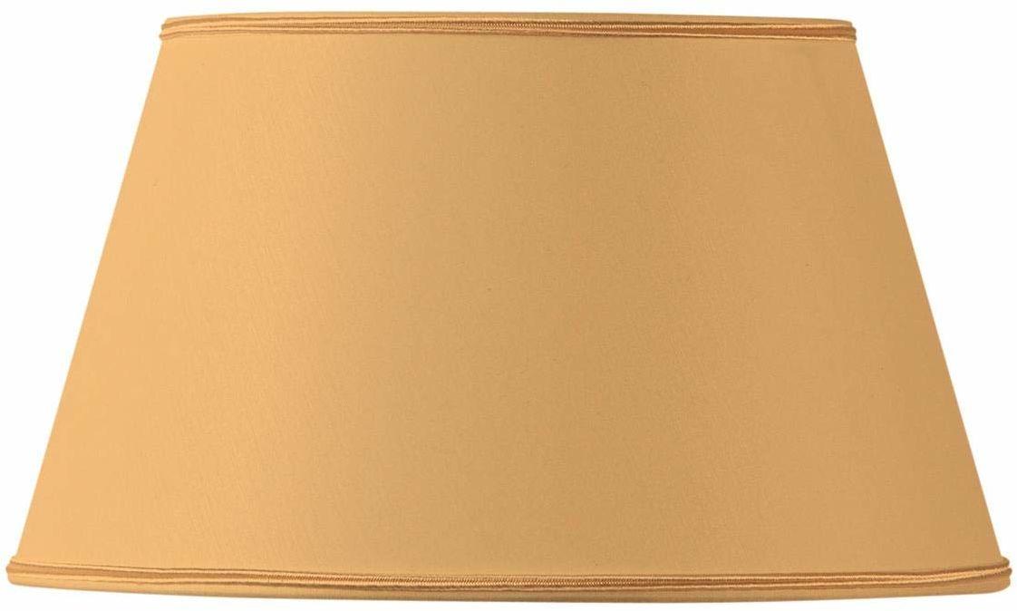 Klosz lampy w kształcie pół Empire Ø 40 x 28 x 23 cm, żółty
