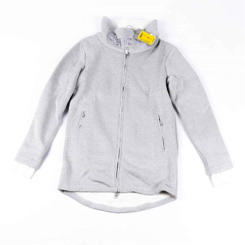 bluza BENCH - Long Bonded Jacket Light Grey (GY003)