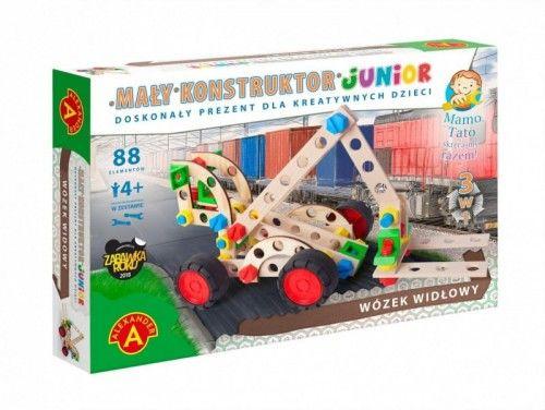 Mały konstruktor Junior 3w1 Wózek