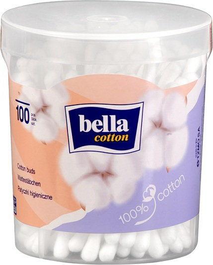 Bella Patyczki higieniczne w okrągłym pudełku A''100