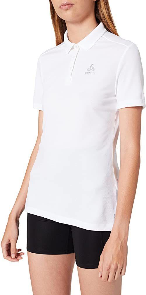 Odlo Damska koszulka polo S/S F-dry biały biały XL