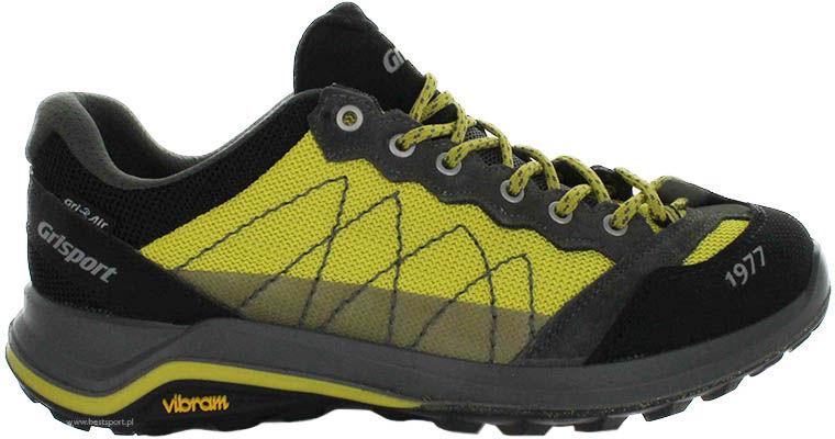 Buty sportowe Grisport czarno-żółte 14301V5