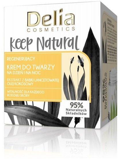 Delia Cosmetics Keep Natural Regenerujący Krem do twarzy na dzień i noc 50ml