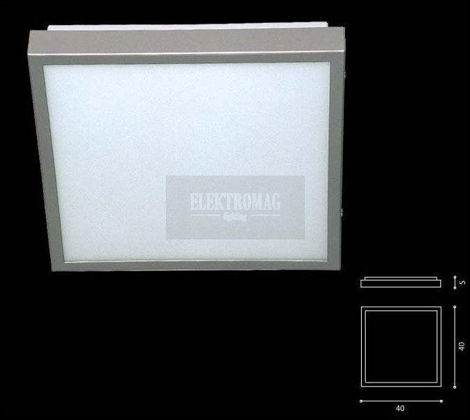 Plafon Okno świetlówkowy Ramko