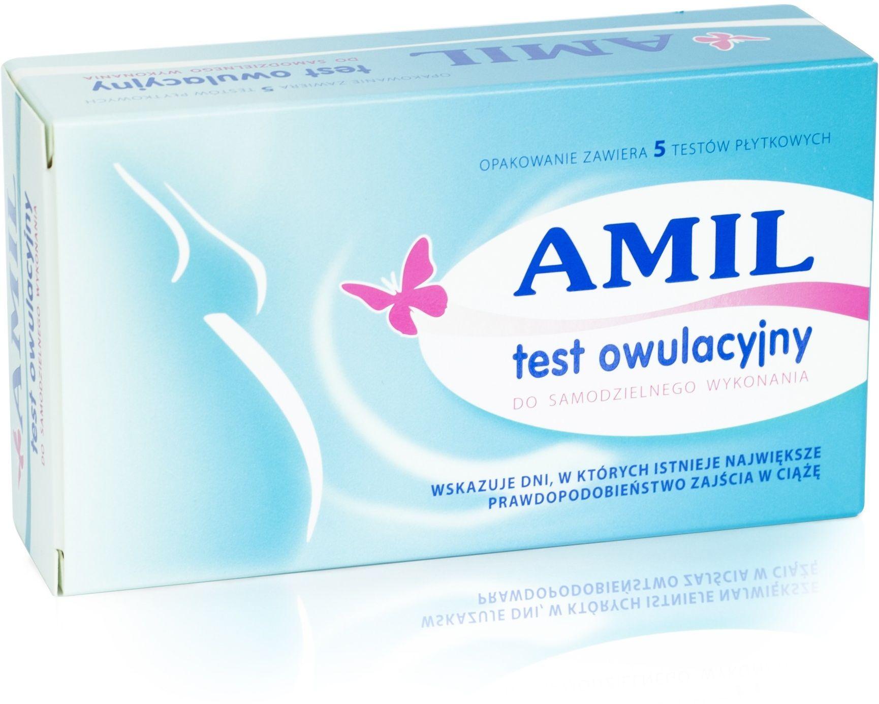 Test owulacyjny Amil