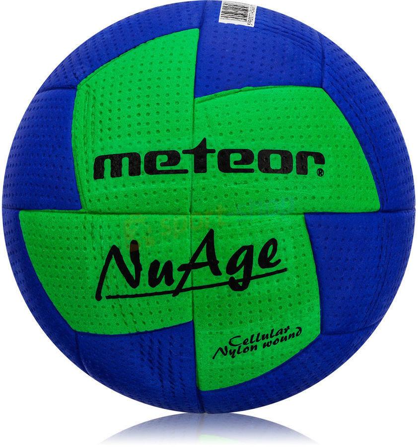 Piłka ręczna Meteor Nuage r. 2 niebiesko-zielona