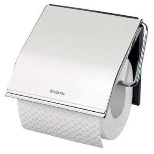 Brabantia - uchwyt na papier toaletowy - stal polerowana