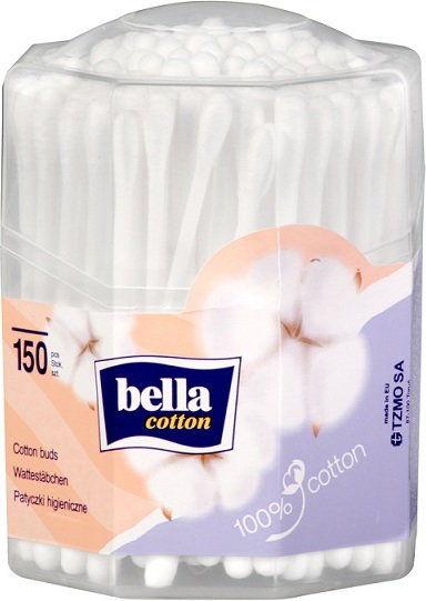 Bella Patyczki higieniczne w ośmiokątnym pudełku A''150