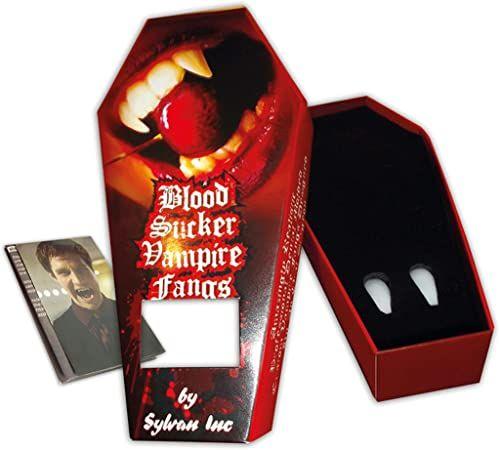 Zoelibat 10133305 97163957.001 zęby wampira, wielokolorowe, jeden rozmiar
