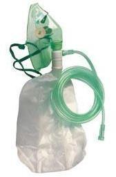 Maska tlenowa dla dorosłych (L) z rezerwuarem tlenu i drenem 2,1 m