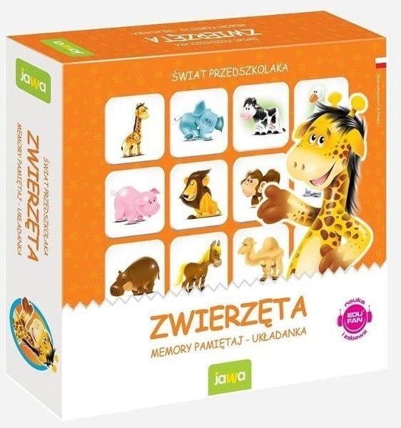 Gra Memory zwierzęta - JAWA GRY