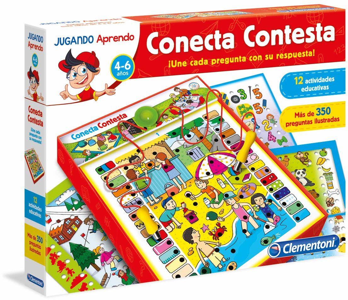Clementoni  Connect Answer, gra edukacyjna (653805), różne kolory/model