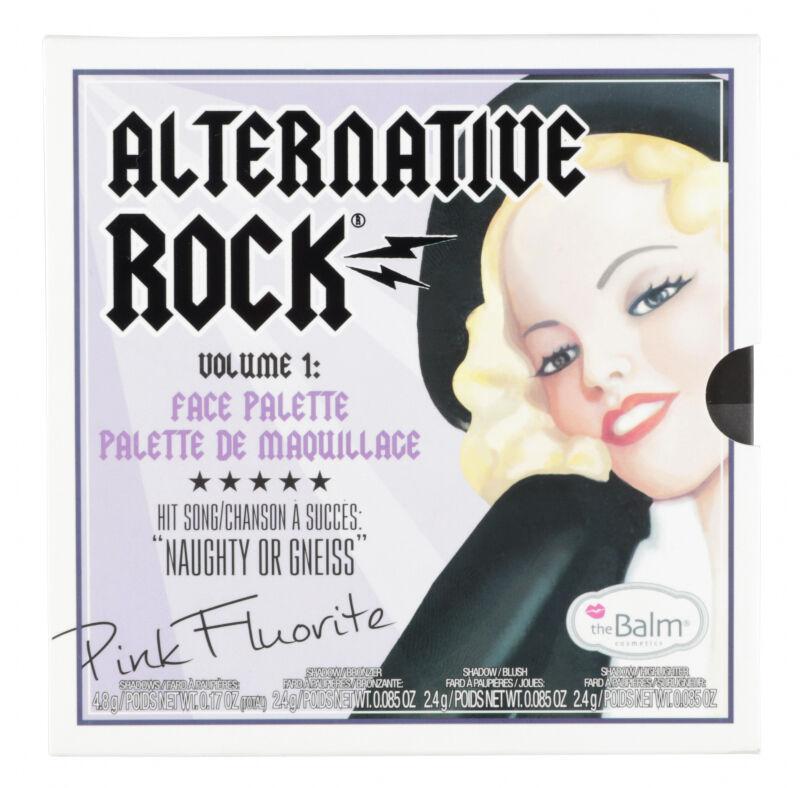 THE BALM - ALTERNATIVE ROCK VOL.1 Face Palette - Paleta do makijażu twarzy
