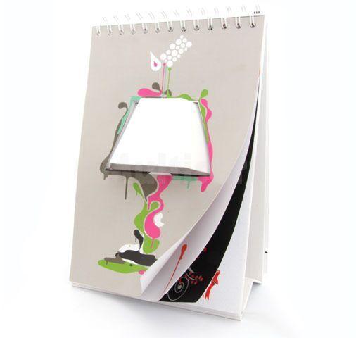 Przewrotna lampka na biurko