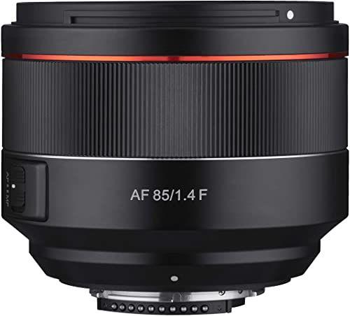 Samyang AF 85 mm f1,4 obiektyw autofokusu do kamer mocujących Nikon F