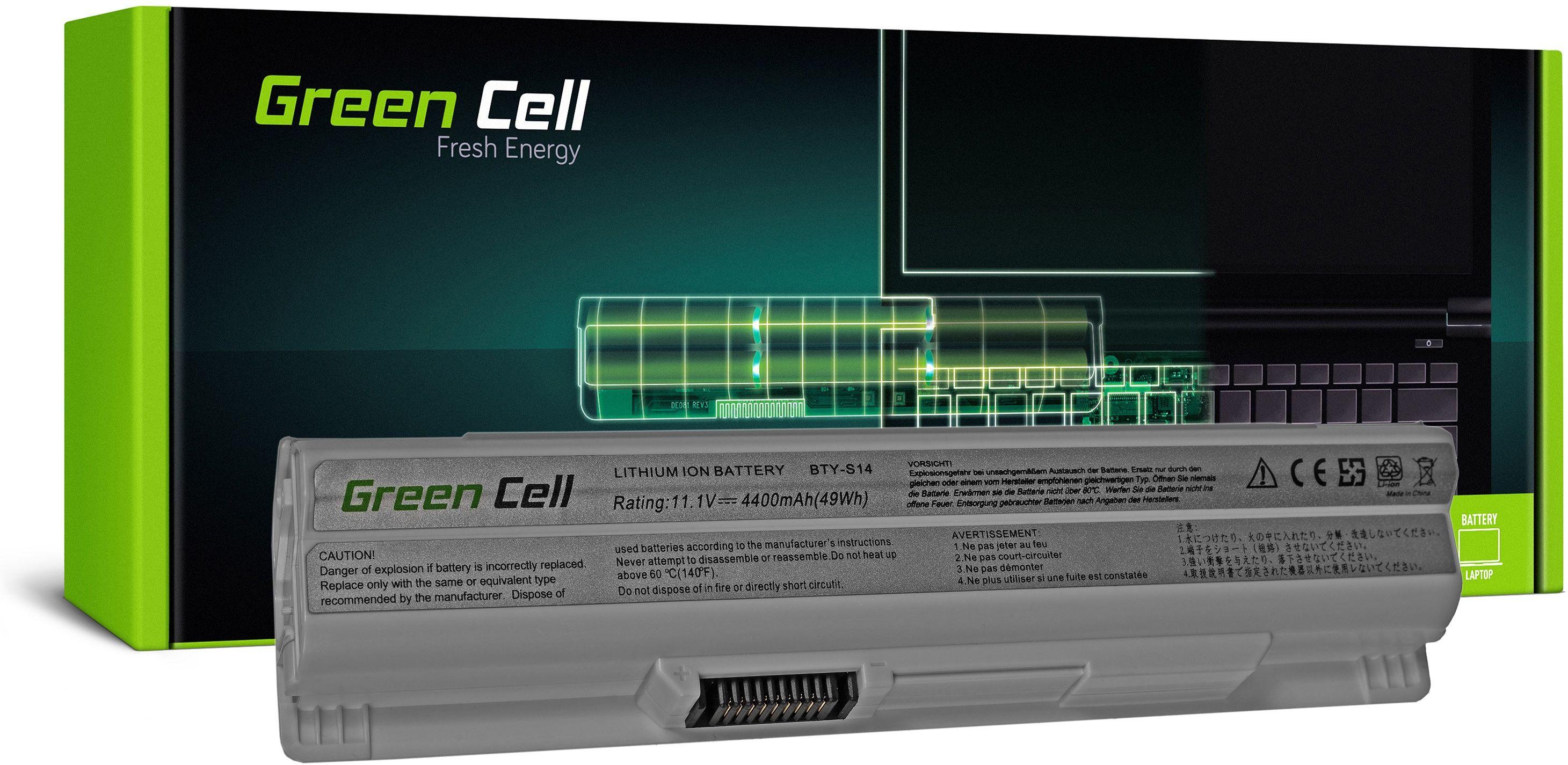 Bateria Green Cell BTY-S14 BTY-S15 do MSI CR650 CX650 FX400 FX600 FX700 GE60 GE70 GP60 GP70 GE620 (Biała)