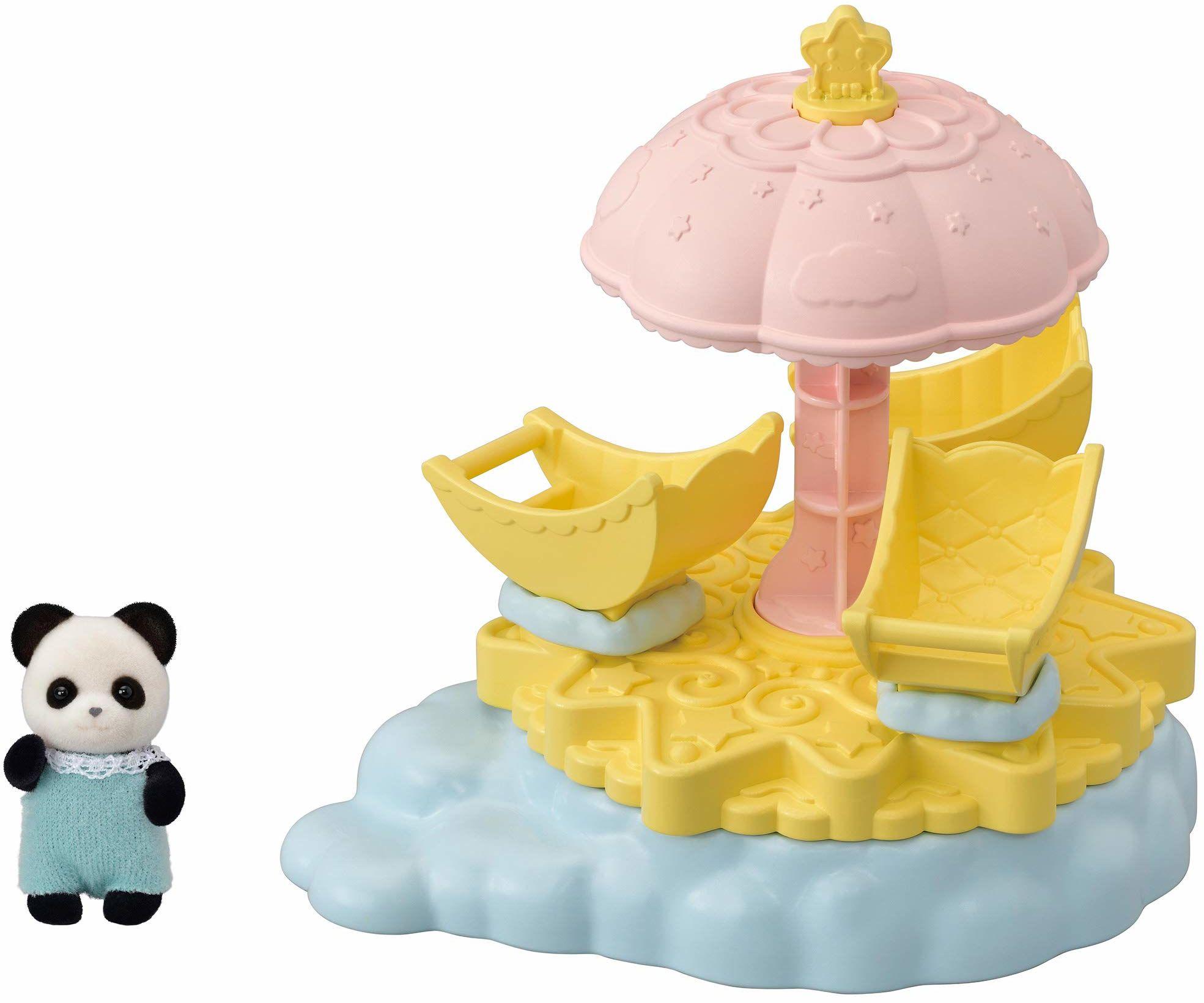 Sylvanian Families 5539 Karuzele gwiazdkowe dla niemowląt - Zestawy do zabawy dla lalek