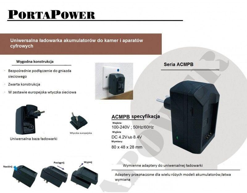 Samsung IA-BP85ST ładowarka ACMPE z wymiennym adapterem (gustaf)
