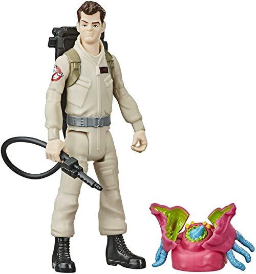 Ghostbusters Fright Features figurka Ray Stantz z interaktywną figurą ducha i akcesoriami, zabawki dla dzieci w wieku od 4 lat, świetny prezent dla dzieci