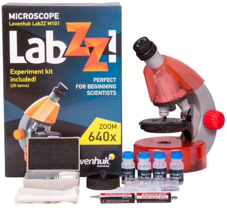 Mikroskop pomarańczowy LabZZ M101