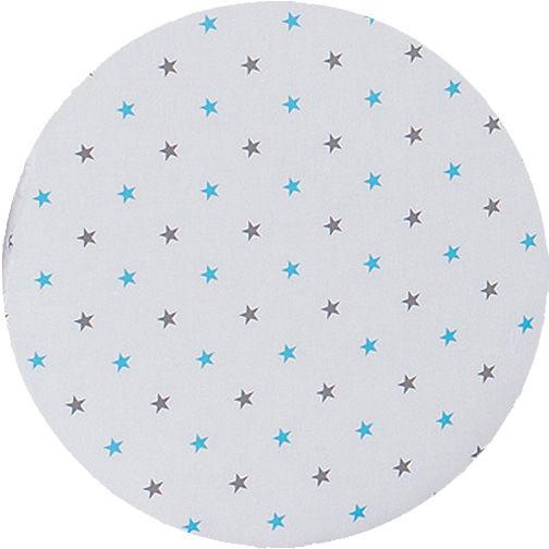 MAMO-TATO Lampka Nocna Gwiazdki szare i niebieskie