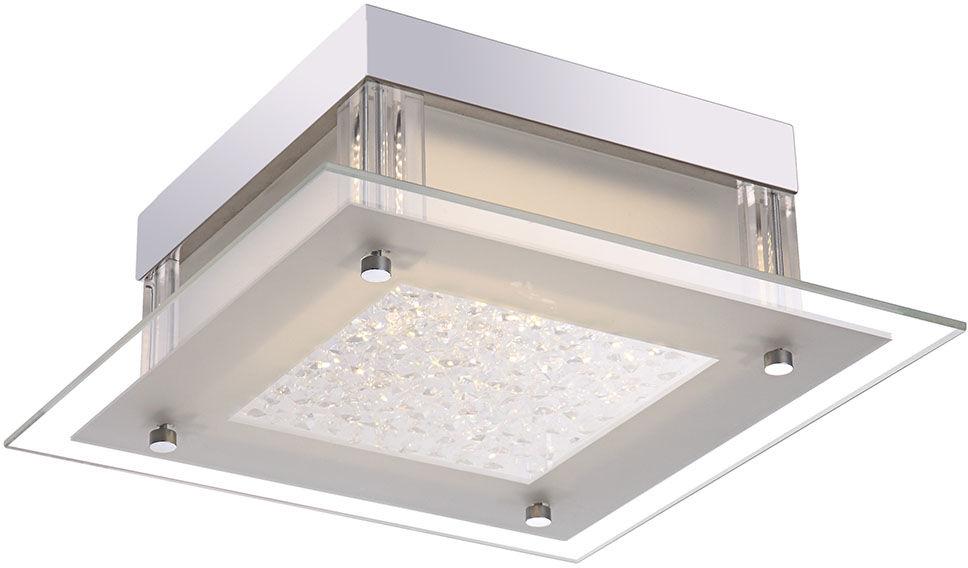 Italux plafon lampa sufitowa Vetti C47111-1 szkło kryształy LED 12W 4000K 28cm