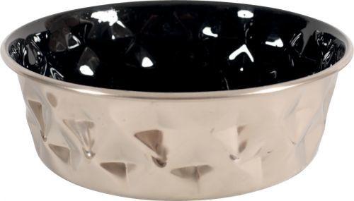 ZOLUX 475535NOI Miska inox DIAMOND 1,15 l kol. czarny