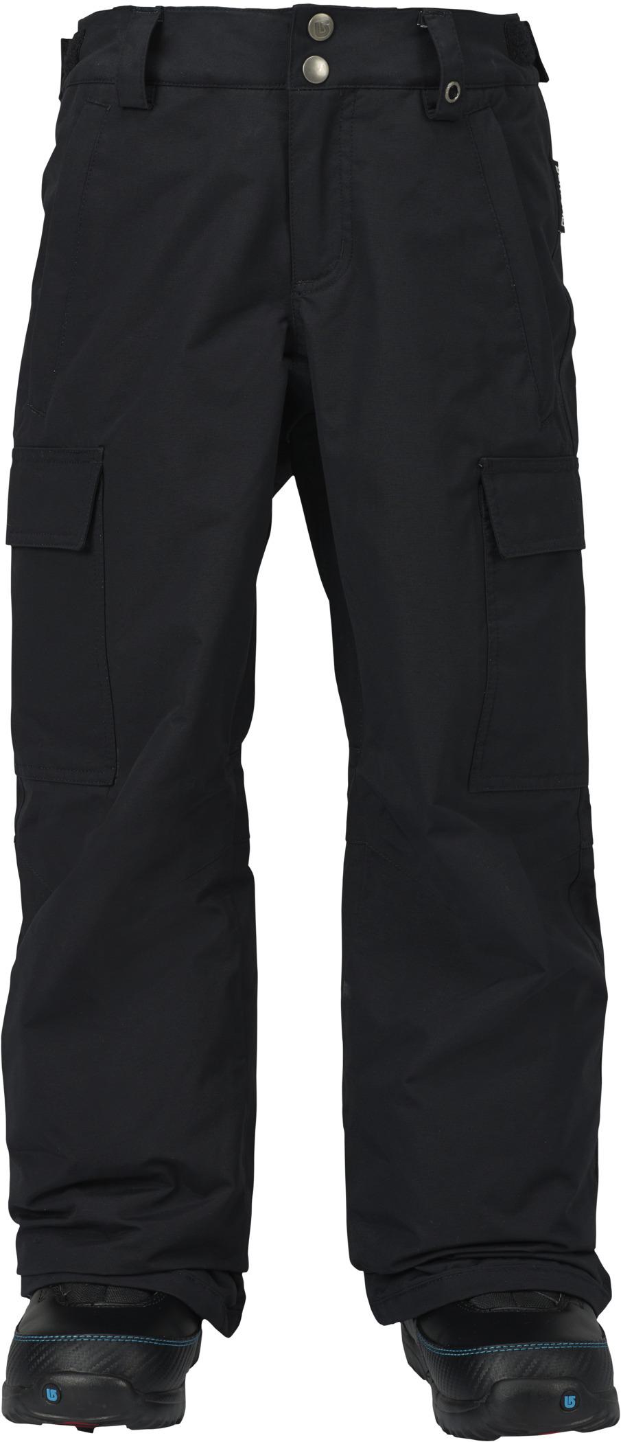 zimowe spodnie dziecięce BURTON BOYS EXILE CARGO TRUE BLACK