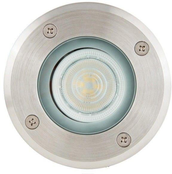 Oświetlenie tarasowe LED Blooma Nashua GU10 stalowe