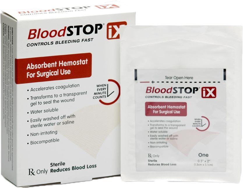 BloodSTOP  iX wchłanialny opatrunek hemostatyczny