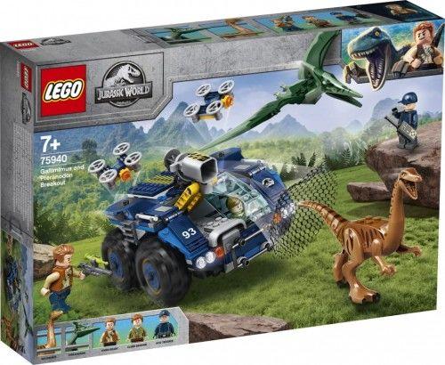 LEGO  Jurassic World . Gallimim i pteranodon: ucieczka. 75940
