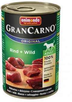 Animonda GranCarno Wołowina z Dziczyzną 400 g