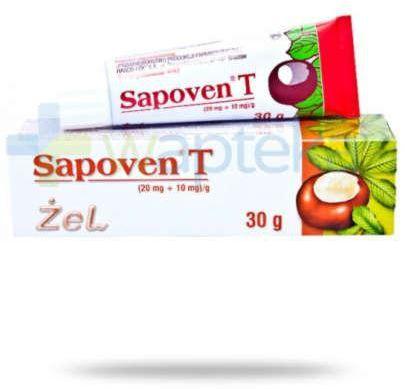 Sapoven T (20 mg + 10 mg)/g żel 30 g