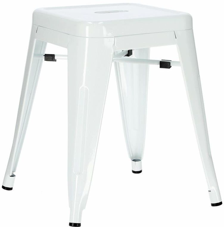D2.Design Paris biały stołek