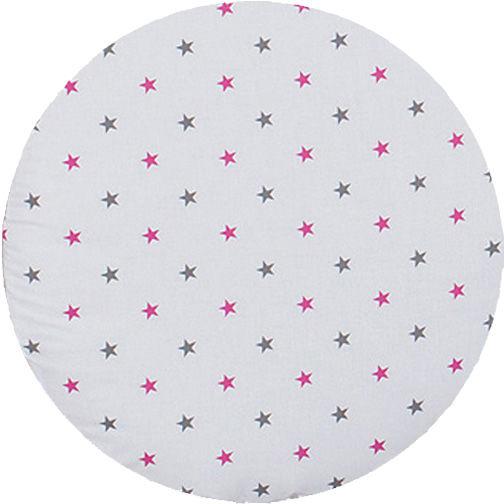 MAMO-TATO Lampa wisząca Gwiazdki szare i różowe