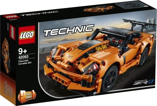 LEGO  Technic. Chevrolet Corvette ZR1 2w1. 42093
