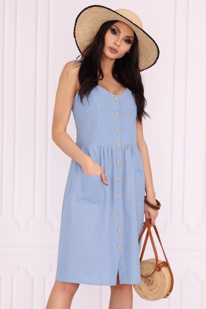 Akminas Blue 85552 sukienka