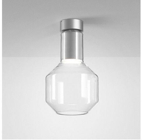 Plafon MODERN GLASS Barrel TP LED 230V oprawa natynkowa szklanaAquform
