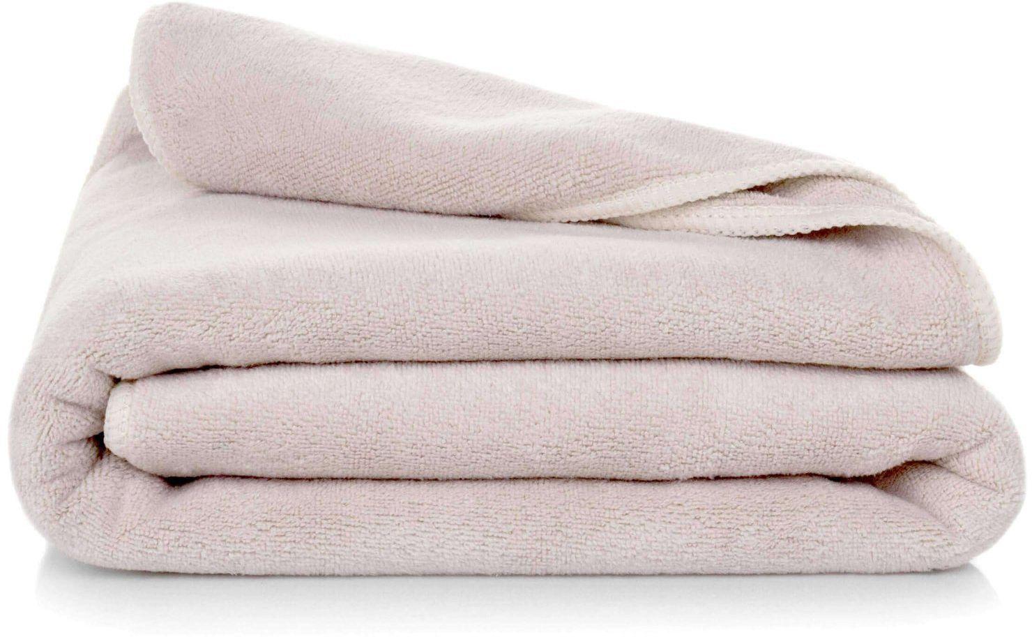 Ręcznik Kąpielowy Eurofirany Amy 02 380 g/m2 Beżowy 70x140