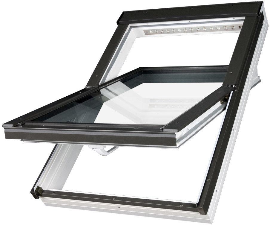 Okno obrotowe FAKRO PTP-V U4 o podwyższonej odporności na wilgoć