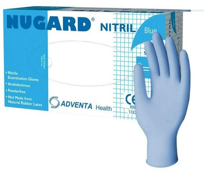 Rękawicę nitrylowe NUGARD