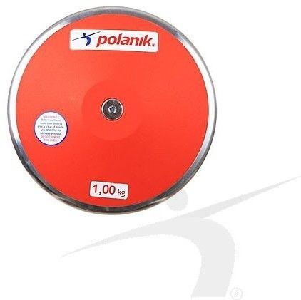 Dysk treningowy Polanik plastikowy 1000 g
