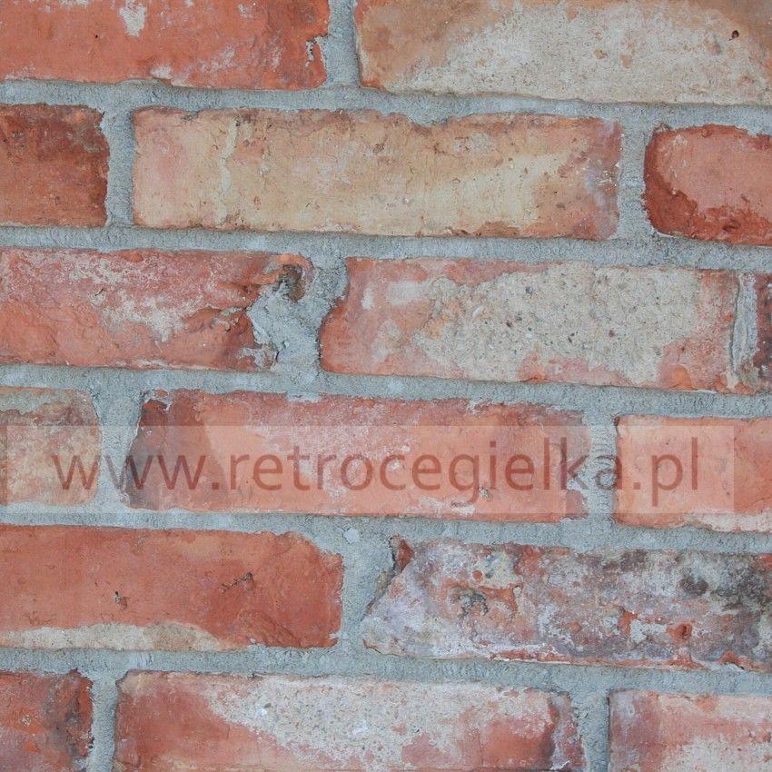 Płytki z cegły rozbiórkowej - Lica klasyczne Starówka Warszawska