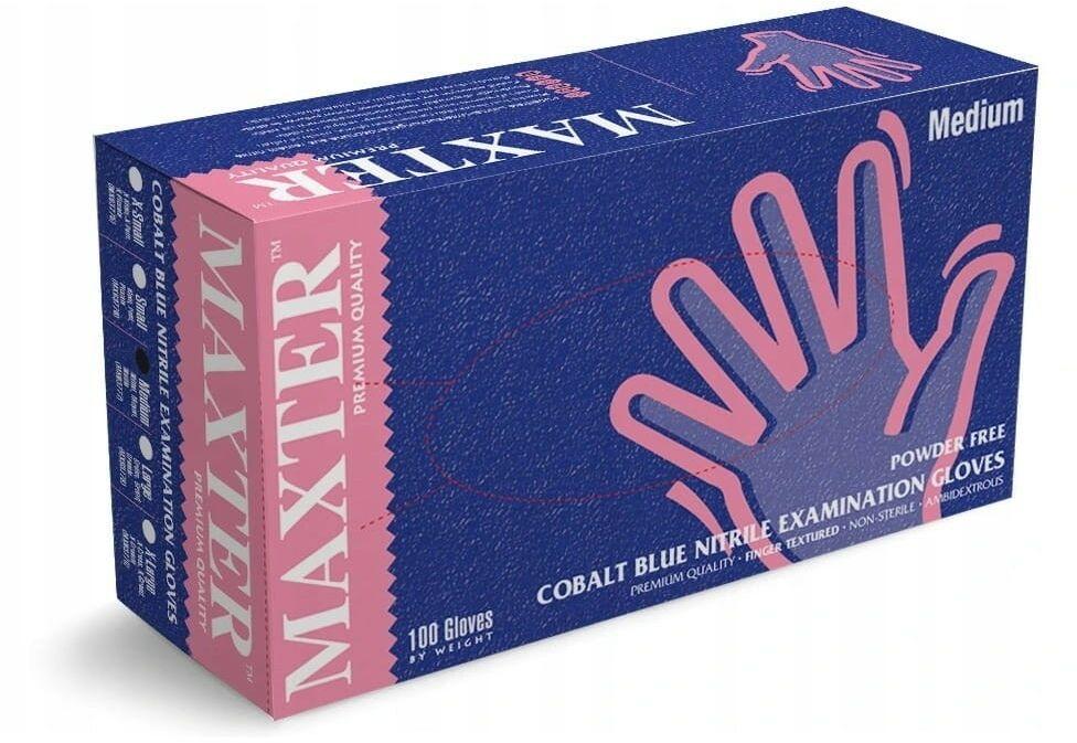 Rękawice nitrylowe Maxter