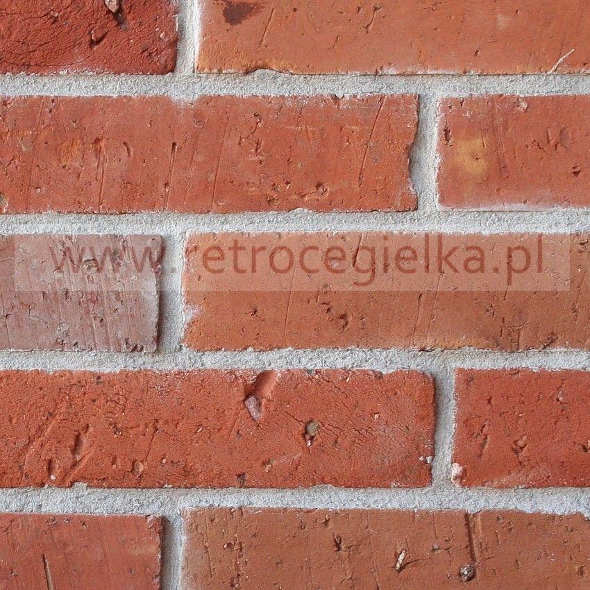 Płytki z cegły rozbiórkowej - Lica kalibrowane Odbudowa Pragi