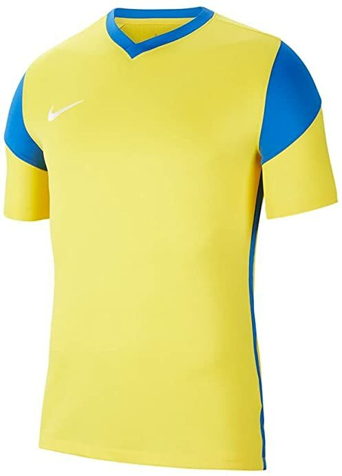 Nike Męska koszulka Park Derby Iii Jersey S/S Tour Yellow/Royal Blue/Royal Blue/White XL
