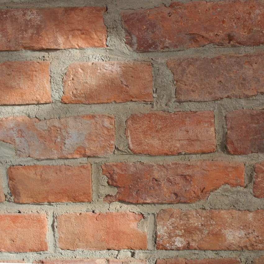 Płytki z cegły rozbiórkowej - Lica klasyczne - mix