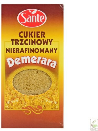 Cukier trzcinowy Sante Demerara 500g