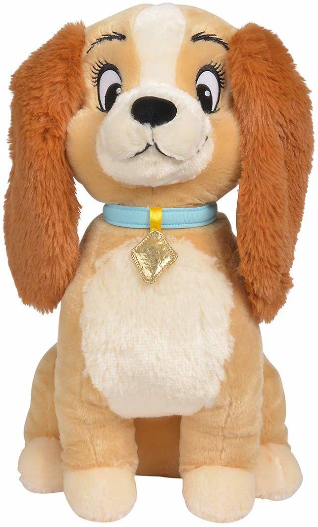 Simba 6315876184 - Disney Klassik Plusz Susi, 45 cm, pluszowa figurka, pies pluszowy, nadaje się od pierwszych miesięcy życia